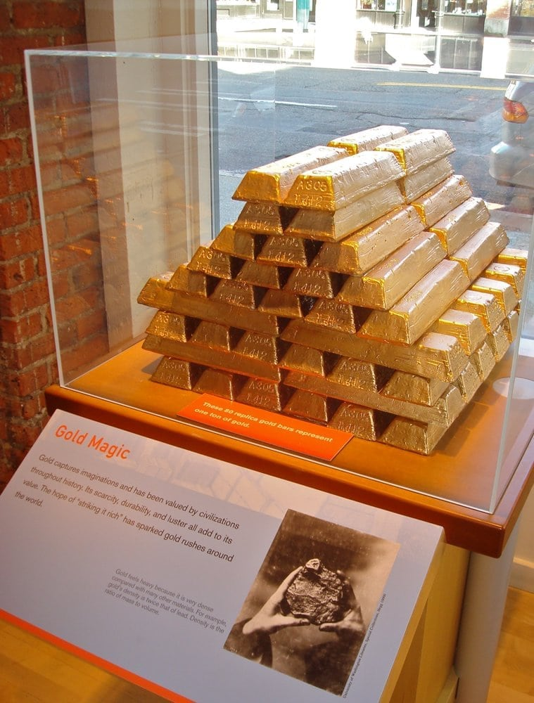 1 Tonne Gold