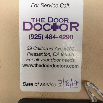 Delicieux Photo Of The Door Doctor   Pleasanton, CA, United States. By Far The