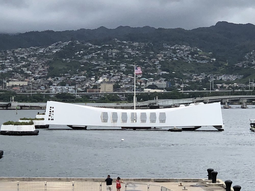 Uss Arizona closed now but should be reopened 2019  You can go on