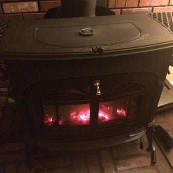 Heat surge amish stove