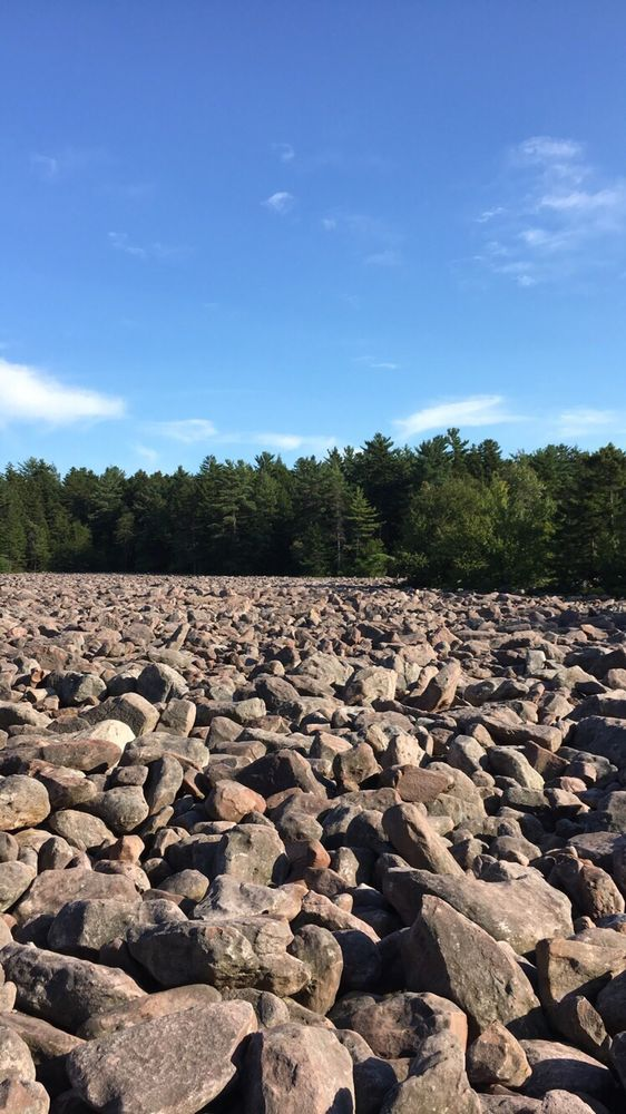Boulder Field: Hickory Run State Park, Lake Harmony, PA