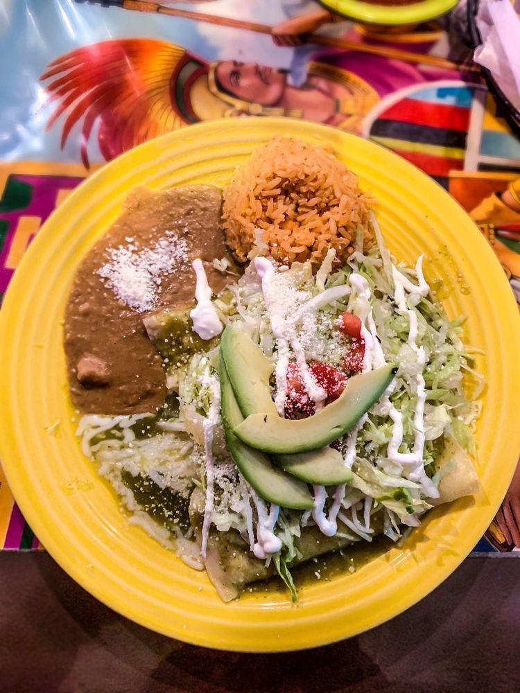 Food from El Rincon Zacatecano Taqueria
