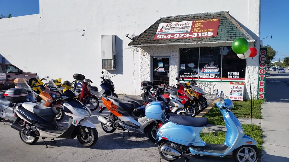 Hot Scooter Rental & Bicycles: 1316 N Federal Hwy, Hollywood, FL