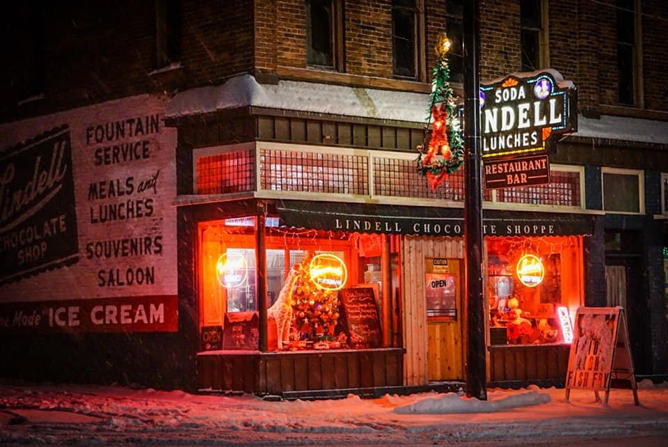 Lindells Chocolate Shoppe: 300 Calumet St, Lake Linden, MI