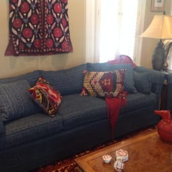 Photo Of Upholstery Plus   Tampa, FL, United States. Redone Sofa With An