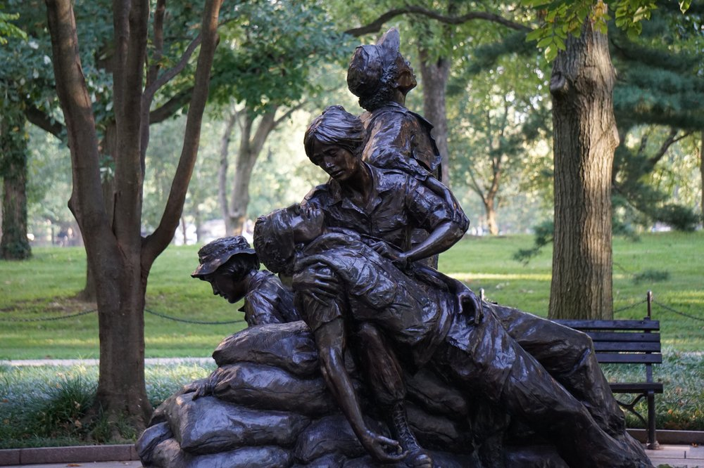 Vietnam Women's Memorial: Constitution Ave NW, Washington, DC, DC