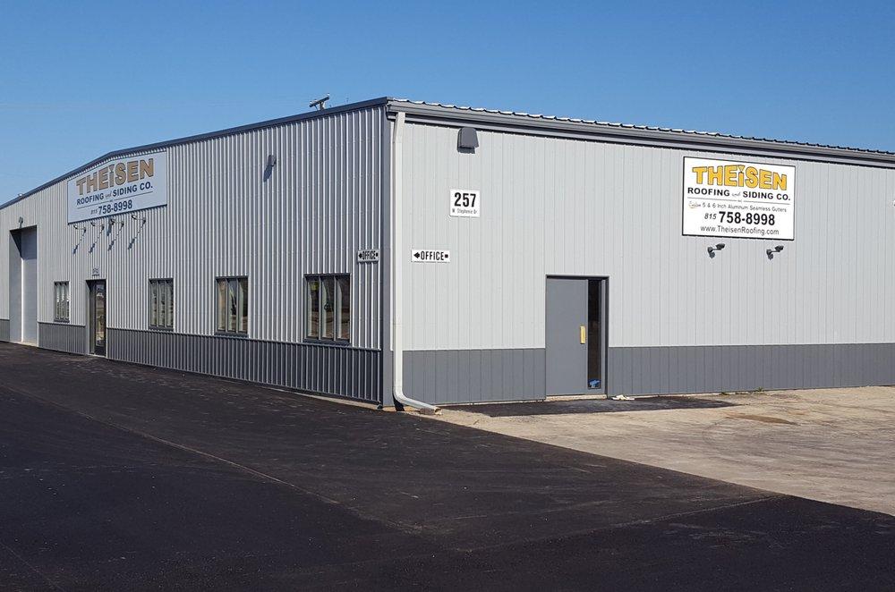 Theisen Roofing & Siding: 257 W Stephenie Dr, Cortland, IL