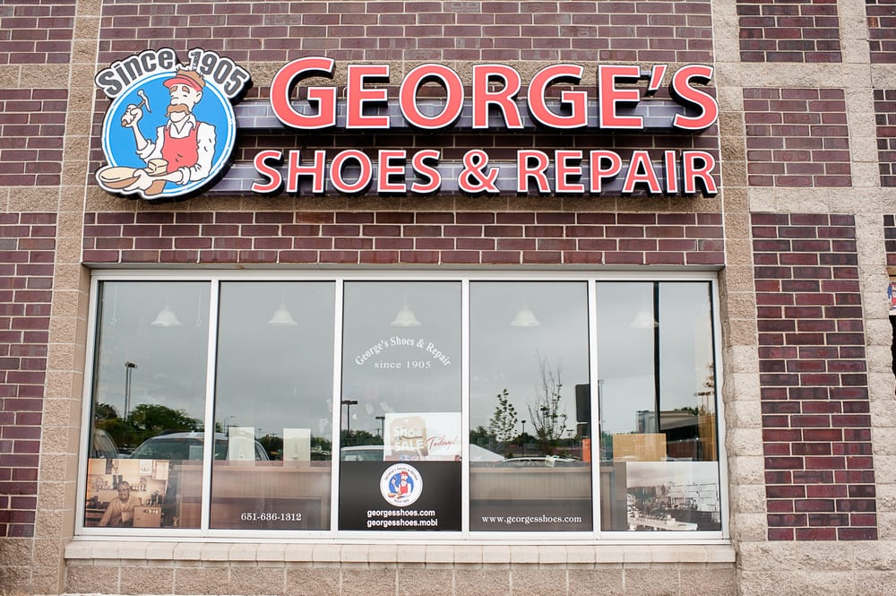 George's Shoe Store & Repair: 3673 Lexington Ave N, Arden Hills, MN