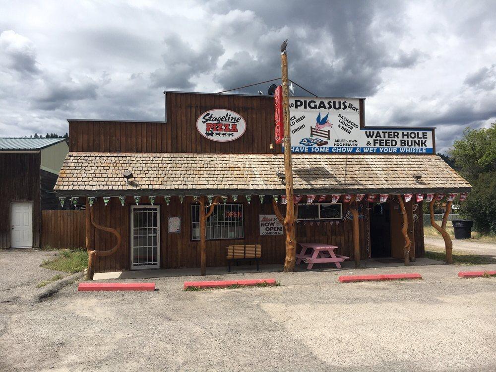 Stageline Pizza Arlee: 92637 US Hwy 93, Arlee, MT