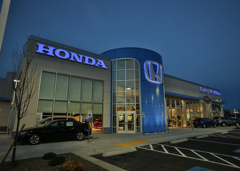 Larry H Miller Honda >> The Brand New Larry H Miller Honda Boise Yelp