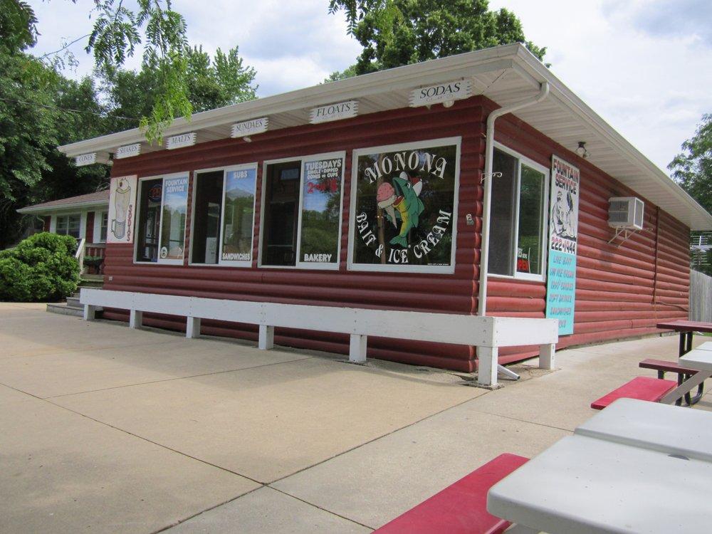 Monona Bait & Ice Cream: 4516 Winnequah Rd, Monona, WI