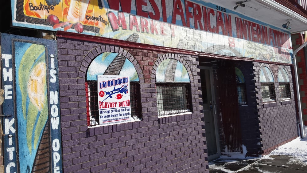 Food from West African International Market & Take Out Restaurant