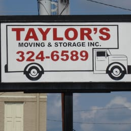 Photo Of Taylor Moving Storage Columbus Ga United States Sign To