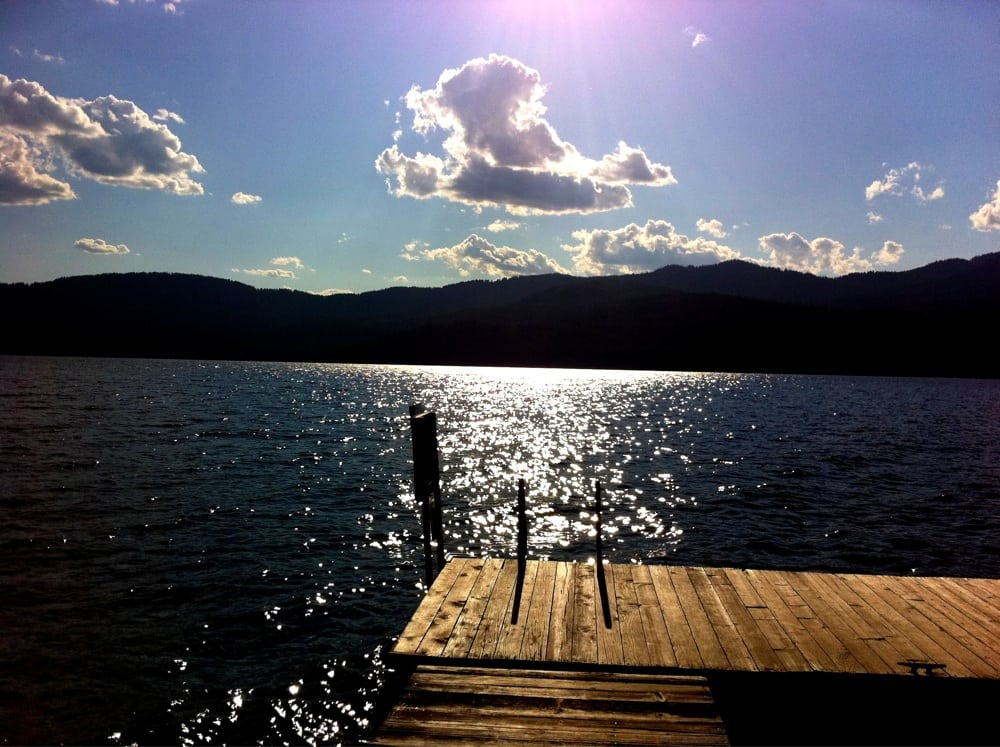Priest lake vacation rentals 1046 s shores rd coolin for Fishing cabin rentals near me