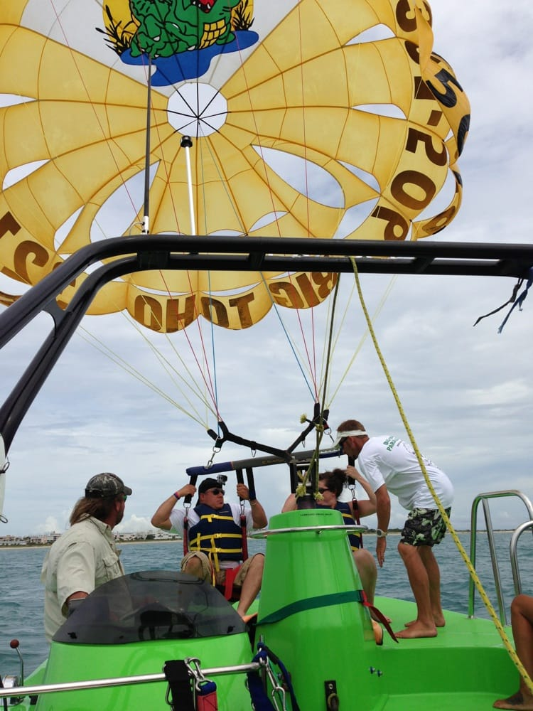 Big Toho Parasailing: 726 Scallop Dr, Cape Canaveral, FL