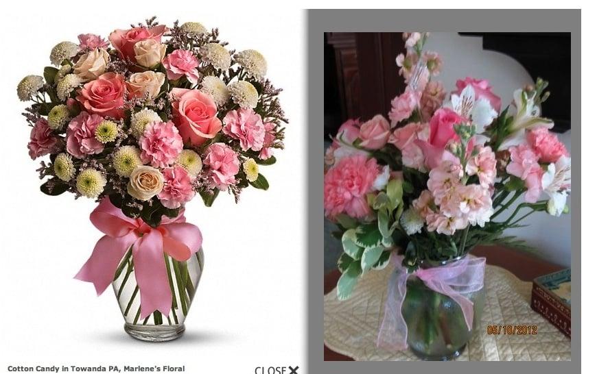 Marlene's Floral: 413 Main St, Towanda, PA