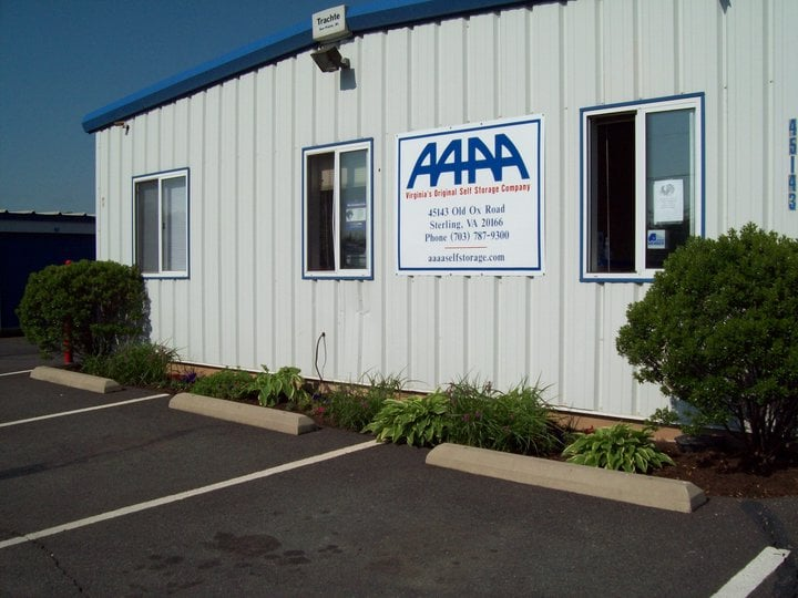 AAAA Self Storage & Moving: 45143 Old Ox Rd, Sterling, VA