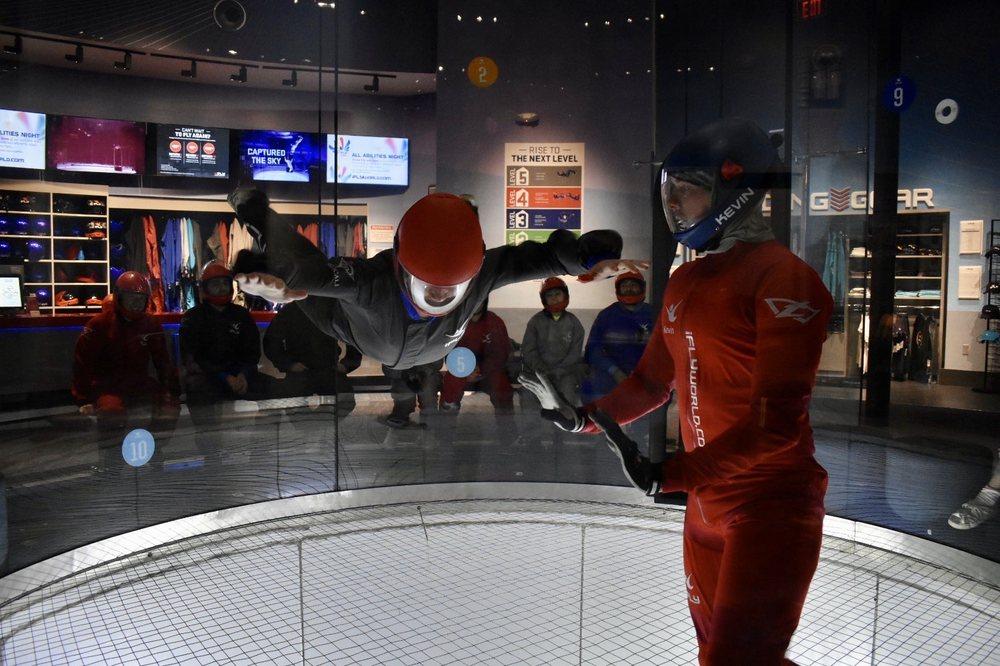 iFLY Indoor Skydiving - Paramus: 211 E State Rte 4, Paramus, NJ
