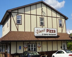 Vince's Pizza & Family Restaurant: 311 S Logan Blvd, Burnham, PA