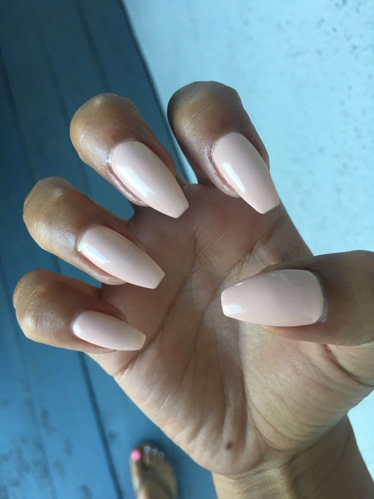 Love the way they shape my nails. Gel color: Papaya Whip - Yelp