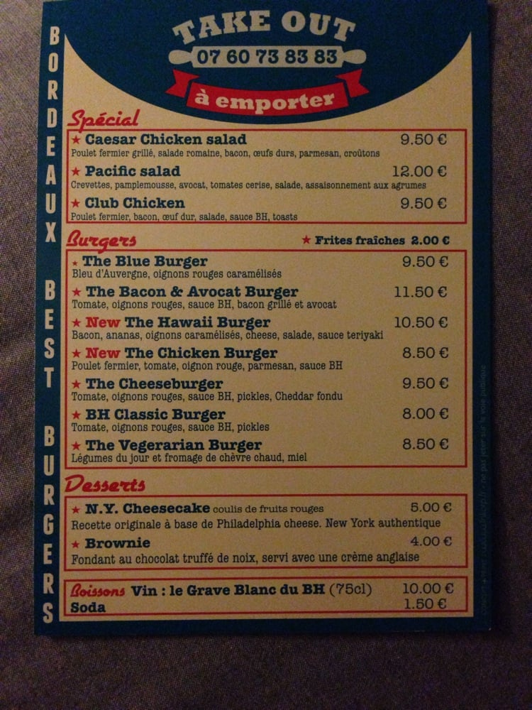 Kokomo Burgers 9 Place Fernand Lafargue Bordeaux Dokbiz