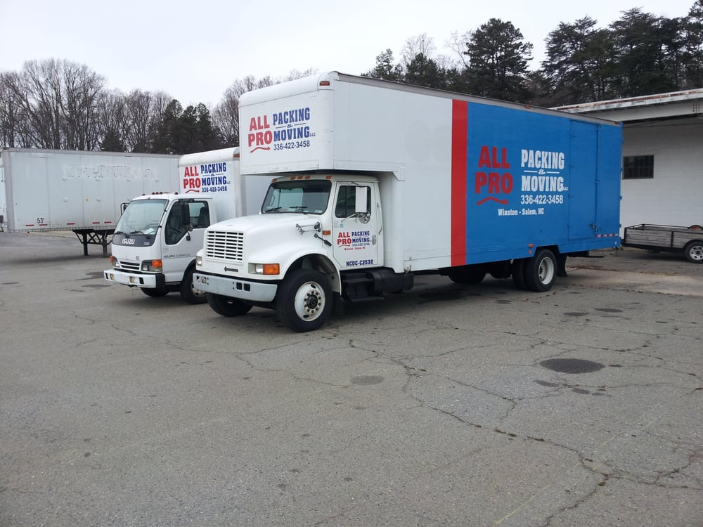 All Pro Packing And Moving: Winston-Salem, NC