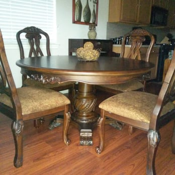 Photo Of La Sierra Home Furniture Houston Tx United States Pedestal Dining