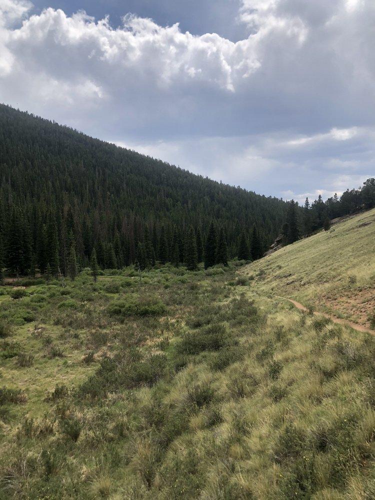 Pancake Rocks Trail: Highway 67, Divide, CO