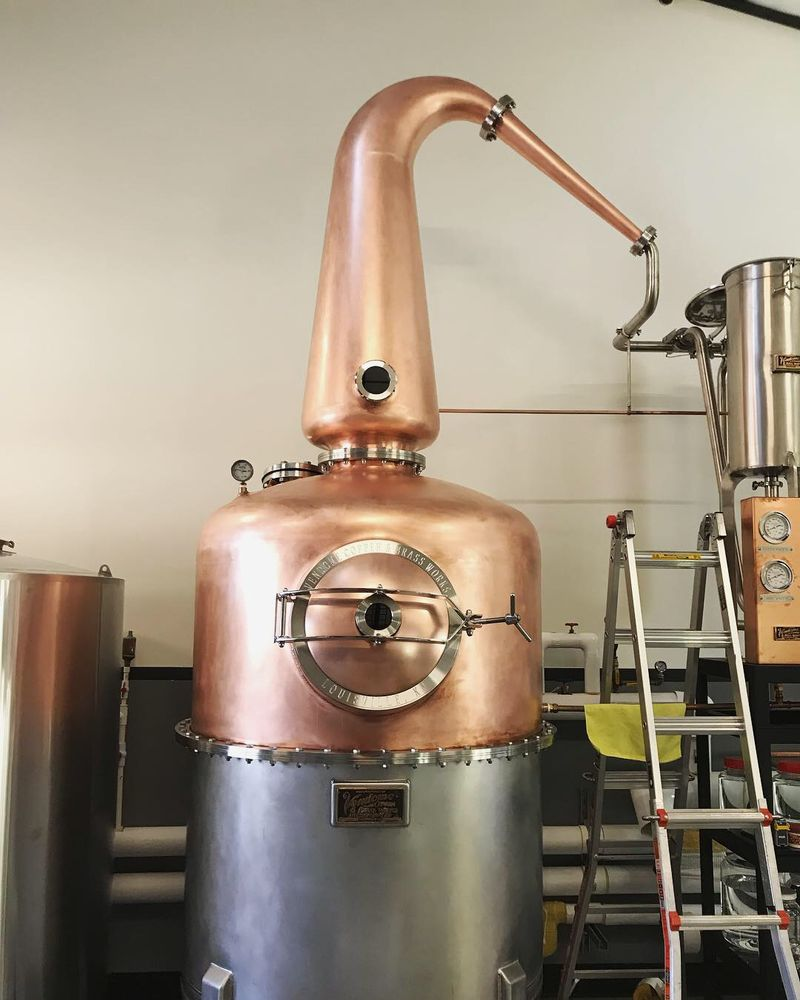 Highside Distilling: 8895 Three Tree Ln NE, Bainbridge Island, WA