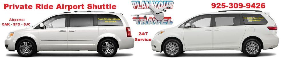 Private Ride Airport Shuttle: 2333 San Ramon Valley Blvd, San Ramon, CA