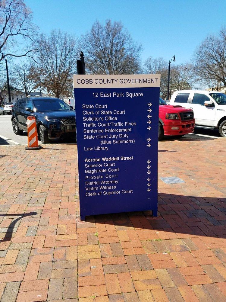 Cobb County Government - Lawyers - 12 E Park Sq, Marietta