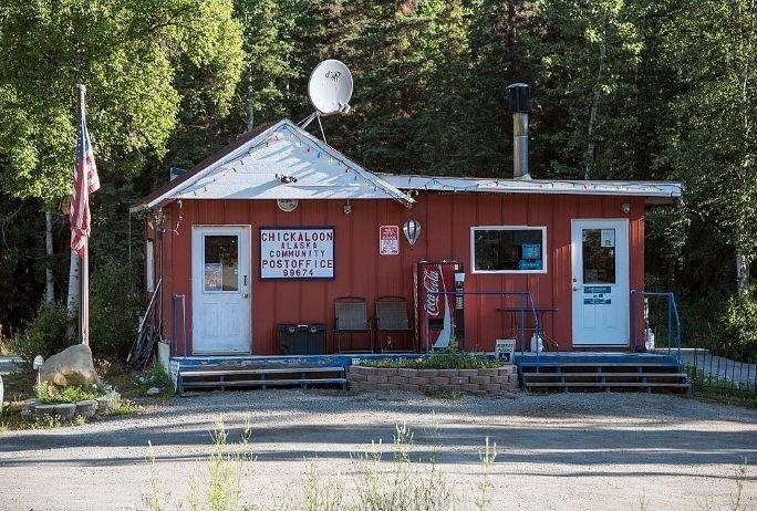US Post Office: 33968 Glenn Hwy, Chickaloon, AK