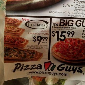 Pizza Guys Coupon