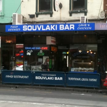 Greek Restaurant Brunswick St Fitzroy