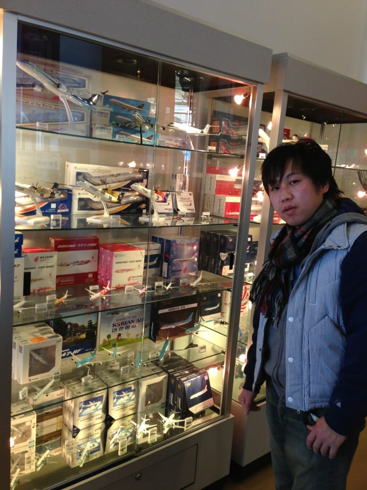 Cool Airplane Models To Buy At Gift Shop Yelp