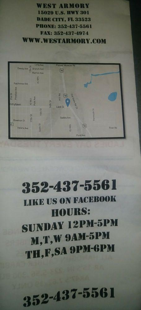 West Armory: 15029 US 301, Dade City, FL