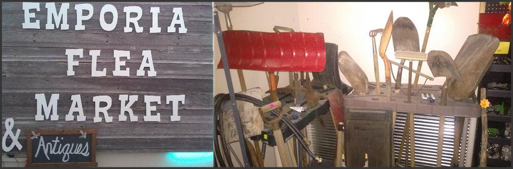 Emporia Flea Market & Antiques: 2705 W Hwy 50, Emporia, KS