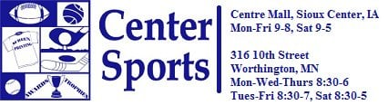 Center Sports: 1827 1st Ave SW, Sioux Center, IA
