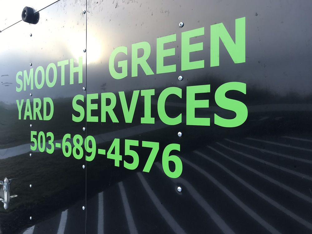 Smooth Green Yard Services: Jefferson, OR