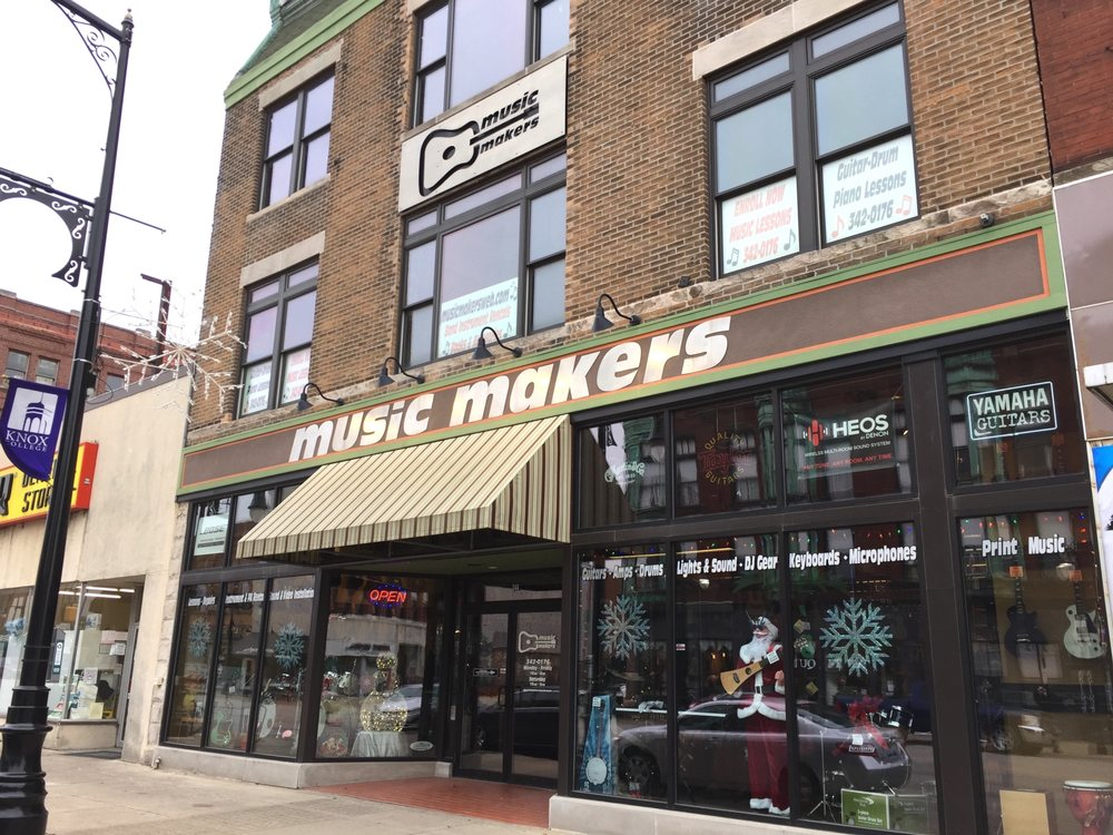 Music Makers: 346 E Main St, Galesburg, IL