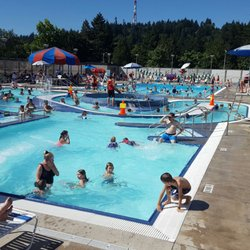 Photo Of Wilson Pool Portland Or United States View From Water Slide