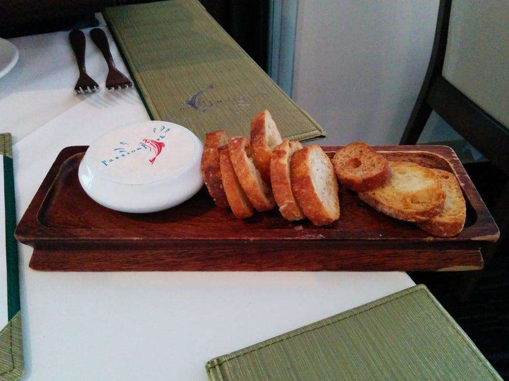 Crispy bread yelp for Passion fish reston va