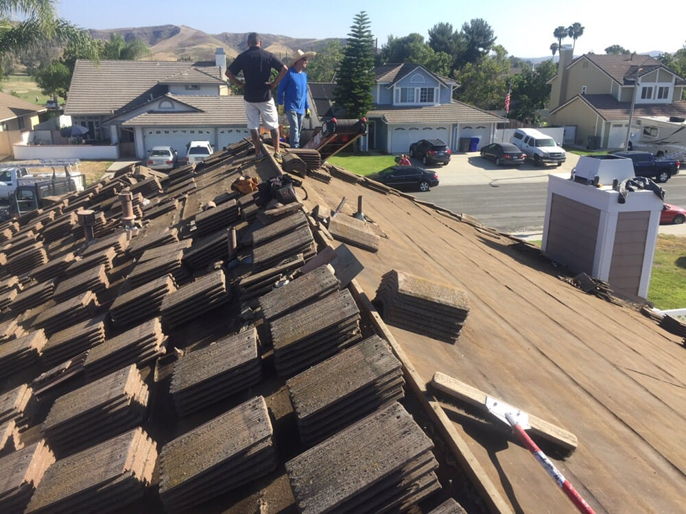 During Photo Of Reroof In Oceanside Yelp