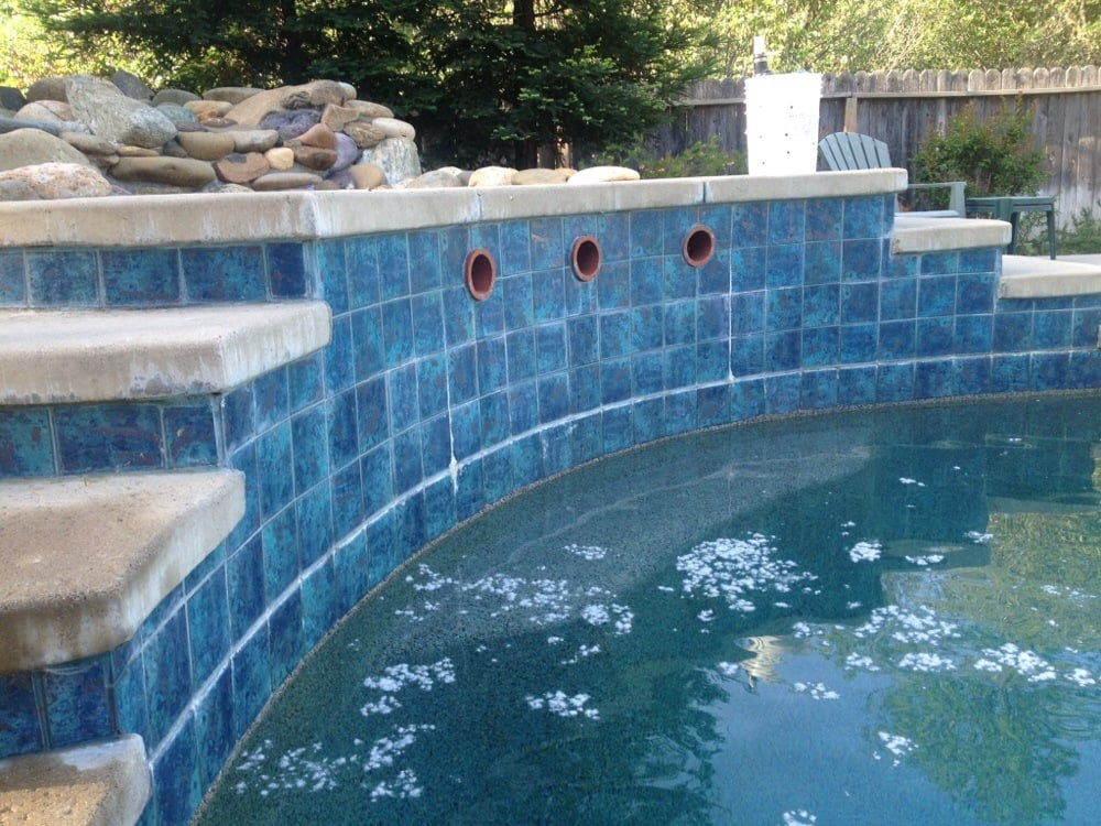 Calcium Build Up Along Pools Water Line Yelp