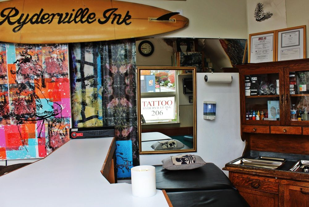 Ryderville Ink: 330 Madison Ave S, Bainbridge Island, WA