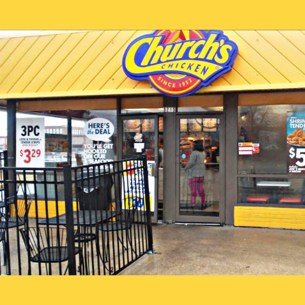 Church's Chicken: 350 Effingham St, Portsmouth, VA