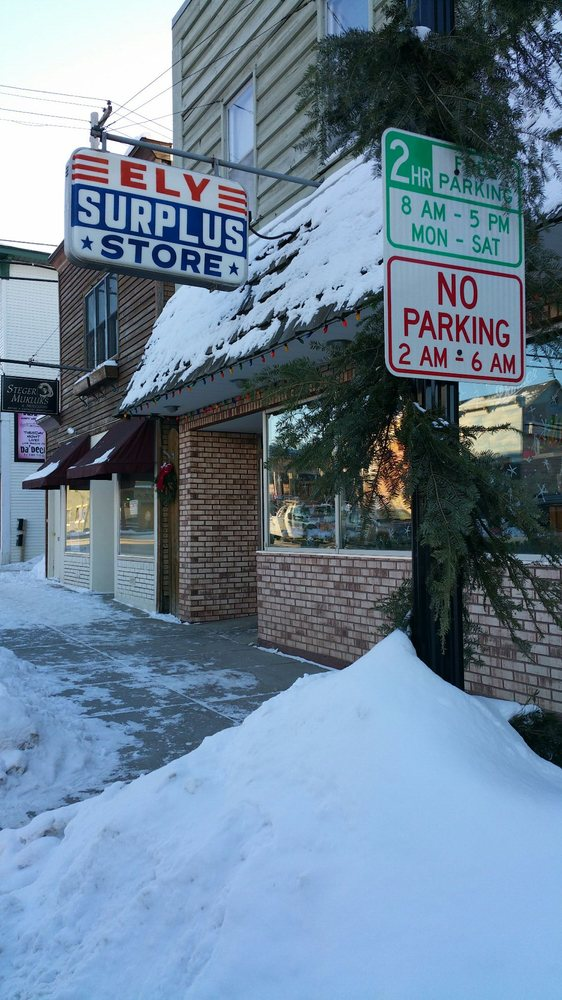 Ely Surplus & Outdoor: 129 N Central Ave, Ely, MN