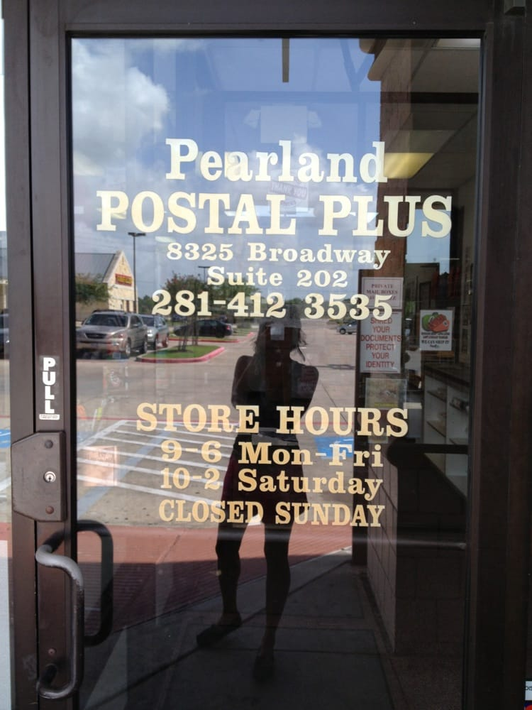 Pearland Postal Plus: 8325 Broadway St, Pearland, TX