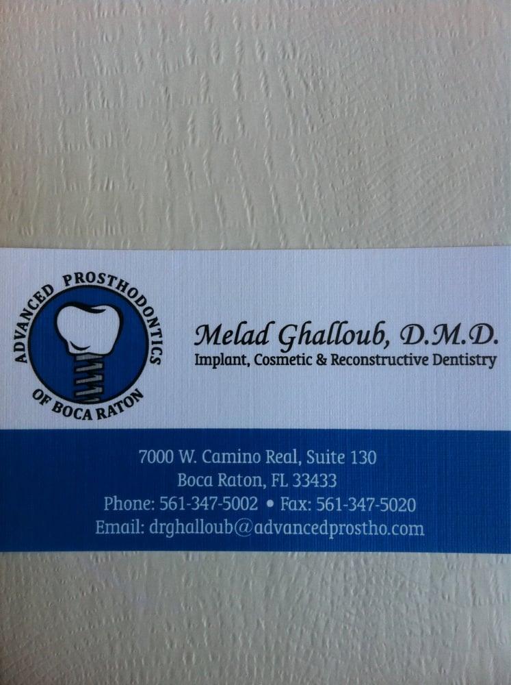 Cosmetic Dentistry of Boca Raton FL Advanced Prosthodontics Dr ...