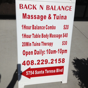 Back N Balance - CLOSED - 13 Photos & 69 Reviews - Massage - 5754 ...